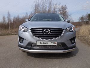 Решётка радиатора (лист) Mazda CX-5 2012-2015 ― shelbyauto